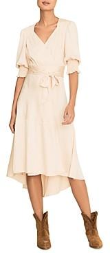 BA&SH Ba & Sh Game Midi Wrap Dress