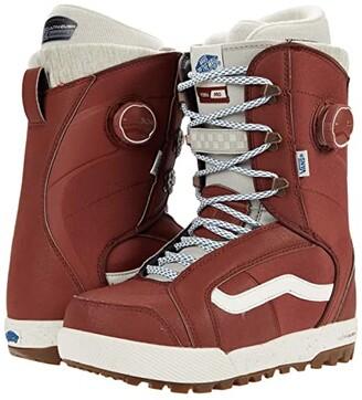 Vans Ferra Pro Snowboard Boots (Henna/Marshmallow) Women's Boots