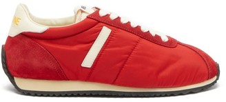 RE/DONE 70s Suede-panelled Trainers - Red