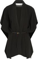 Roland Mouret Snagsby belted stretch-crepe jacket