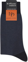 Dore Dore Pin Dot Cotton-blend Medium Length Socks