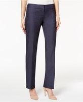 Nine West Denim Slim-Leg Trousers