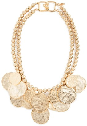 Kenneth Jay Lane Women's Coin Necklace