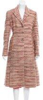 Prada Wool Tweed Skirt Suit