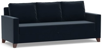 Pottery Barn Cameron Square Arm Upholstered Pull-Up Platform Sleeper Sofa