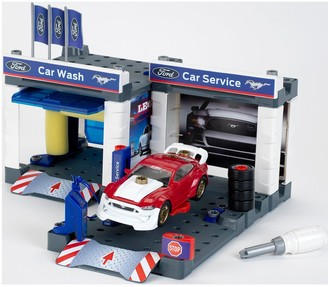 Ford Service Station with Ford Mustang
