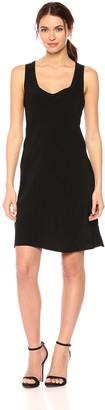 Calvin Klein Jeans Women's Scoop Neck Mini Dress