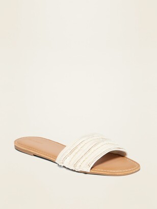 Old Navy Textured Slide Sandals for Women