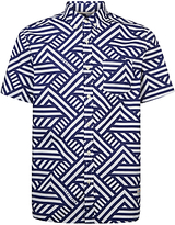 Penfield Elba Patterned Short Sleeve Shirt