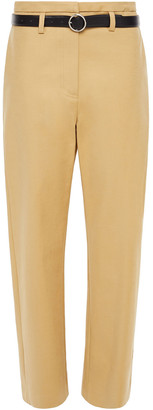 LVIR Cotton-blend Gabardine Straight-leg Pants