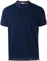 Moncler drawstring hem polo shirt - men - Cotton/Polyamide - L