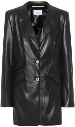 Nanushka Cancun faux-leather blazer