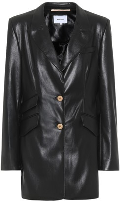 Nanushka Faux-leather jacket