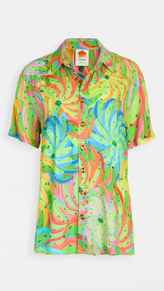 Farm Rio Neon Banana Boy Shirt