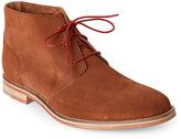 J Shoes Mid Tan Archie 2 Plain Toe Chukka Boots