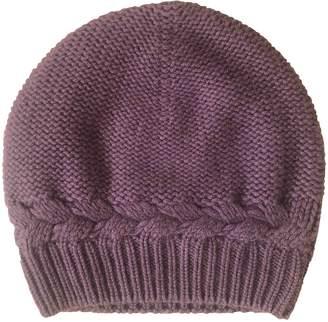N. Non Signé / Unsigned Non Signe / Unsigned \N Purple Cashmere Hats