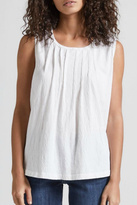 Current/Elliott Current Elliott Pintuck Muscle Tee