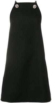 Calvin Klein Embellished Straps Midi Dress