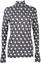 Aquilano Rimondi Pattern Detail Blouse