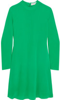 Balenciaga Crepe De Chine Dress - Green