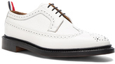 Thom Browne Contrast Longwing Leather Brogues