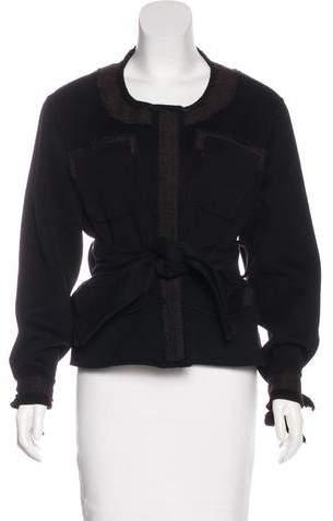 Yang Li Wool Embellished Jacket