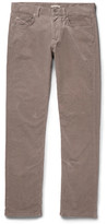 Bottega Veneta - Slim-fit Stretch-cotton Corduroy Trousers