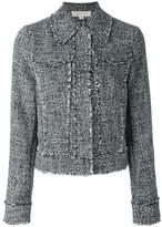 MICHAEL Michael Kors raw edge cropped jacket