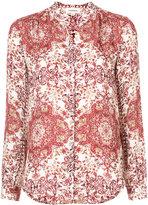 L'Agence printed shirt