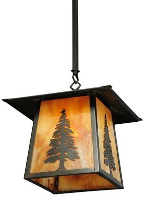 Meyda Tiffany 1 Light Lantern Geometric Pendant Shopstyle