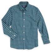 Vineyard Vines Algonquin Plaid Flannel Shirt (Big Boys)