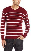 Levi's Men's Winger Striped V-Neck Sweater