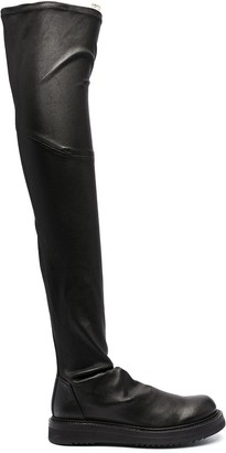 Rick Owens Creeper Stocking knee-high boots