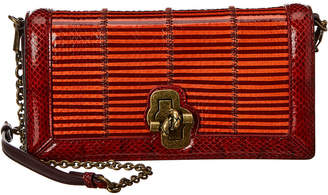 Bottega Veneta Olimpia Leather Knot Clutch