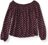 Cape Juby Ditsy Off The Shoulder Peasant Top