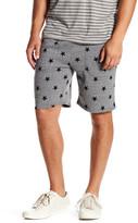 Alternative Star Print Fleece Shorts