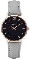 Cluse Women's La Boheme CL30018 Leather Quartz Dress Watch