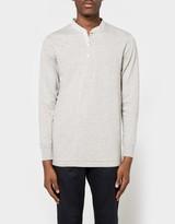 Merz b.Schwanen Button Facing Shirt Banded Collar