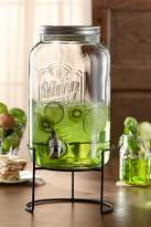 Jay Import Main Street 2 Gallon Canning Jar Beverage Dispenser & Stand