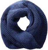 Joe Fresh Women's Knit Infinity Scarf, JF Midnight Blue (Size O/S)