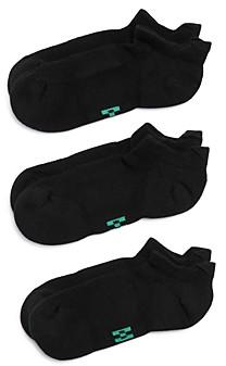 Hue Tab-Back No Show Socks, Pack of 3