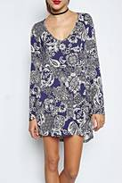 Michael Lauren Kyle V Neck Dress