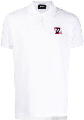DSQUARED2 Logo Chest Patch Polo Shirt