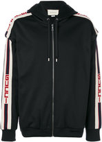 Gucci technical jersey hooded sweatshirt - men - Cotton/Polyamide/Polyester - L