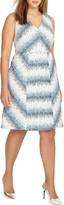 Studio 8 Theola Dress, Blue/White