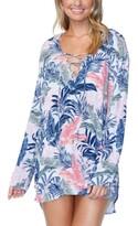 Thumbnail for your product : Raisins Juniors' Not So Bora Bora Printed Coverup Women's Swimsuit
