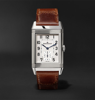 Jaeger-LeCoultre Jaeger Lecoultre Reverso Classic Large Duoface Small Seconds Automatic 28.3mm 18-Karat Rose Gold And Alligator Watch