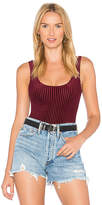 House Of Harlow X REVOLVE Winnie Bodysuit in Burgundy
