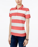Tommy Hilfiger Striped Polo Top, Only at Macy's