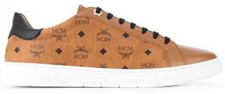 MCM Visetos low-top sneakers